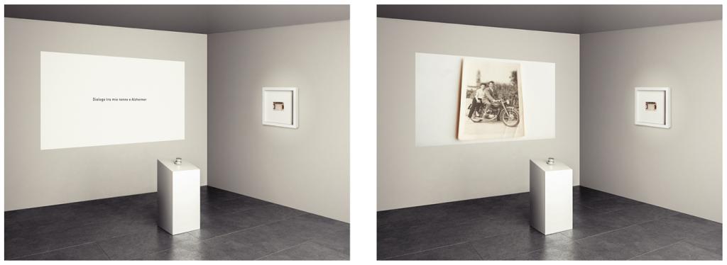 Installazione4_dialogo_tra_mio_nonno_e_Alzheimer_Mauro J Pellegrini_2013
